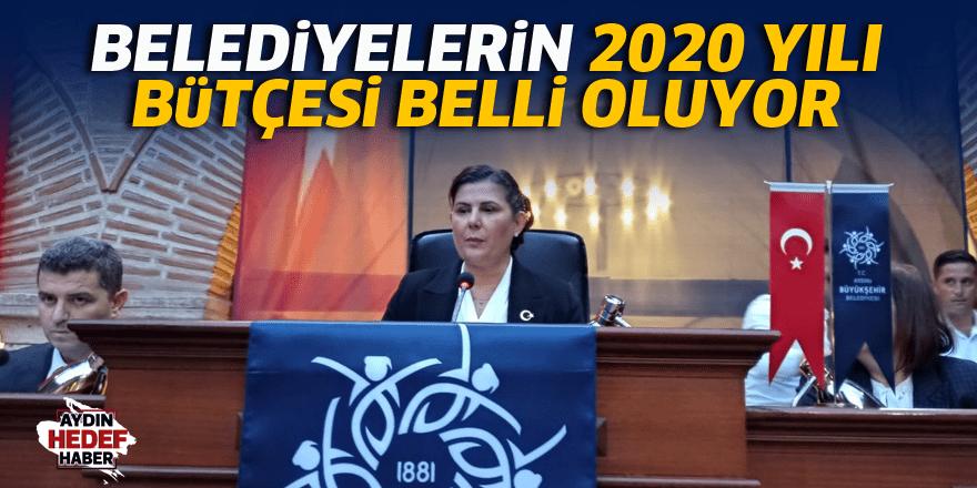 Aydın'da 2020 yılı bütçesi belli oluyor