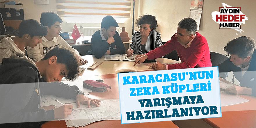 Karacasu'nun zeka küpleri yarışmaya hazırlanıyor