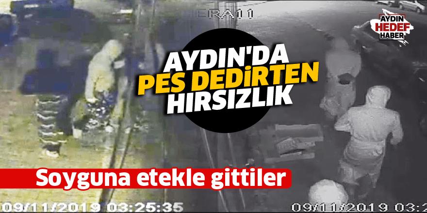Aydın'da pes dedirten hırsızlık