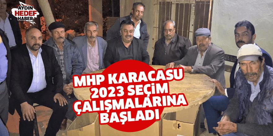 MHP Karacasu 2023 seçim çalışmalarına başladı