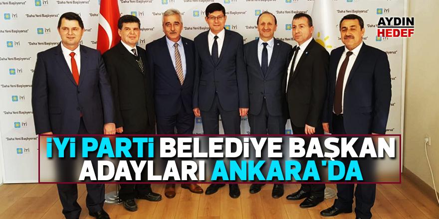 İYİ Parti belediye başkan adayları Ankara'da