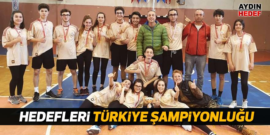 Hedefleri Türkiye Şampiyonluğu