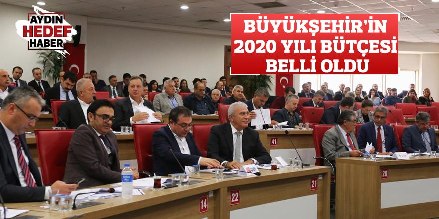 Büyükşehir'in 2020 yılı bütçesi belli oldu