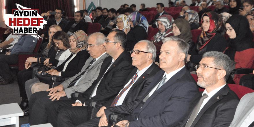 Nazilli'de Mevlid-i Nebi Haftası Konferansı Düzenlendi
