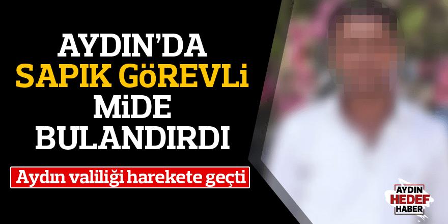 Nazilli'de hastane görevlisi çıplak görüntülerini paylaştı