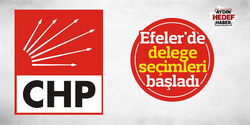 CHP Efeler'de delege seçimleri başladı