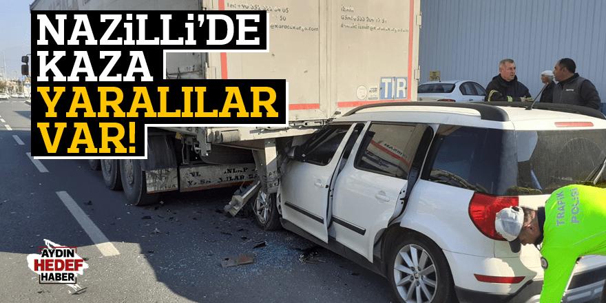 Nazilli'de kaza: 2 ağır yaralı