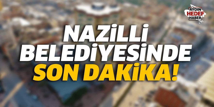 Nazilli Belediyesinde 4 kişi görevinden alındı