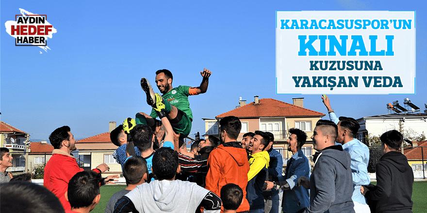 Karacasuspor'un kınalı kuzusuna yakışan veda