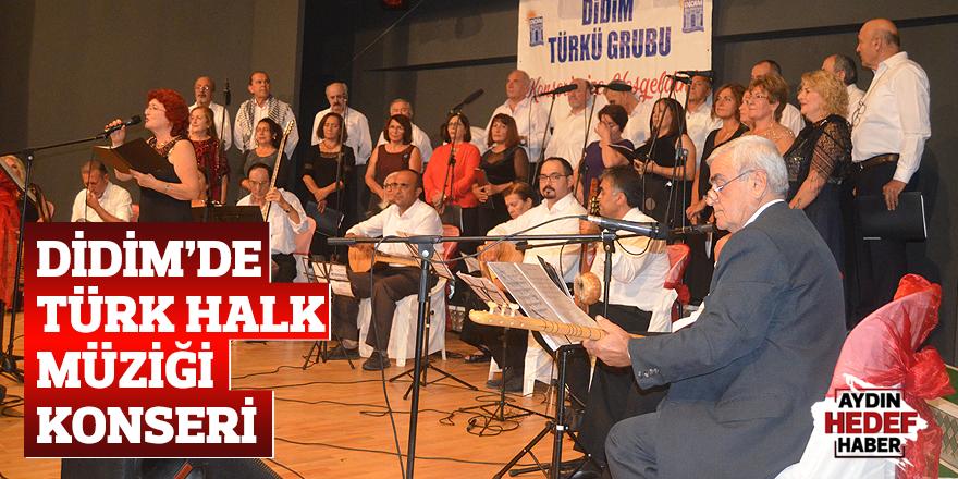 Didim'de Türk Halk Müziği konseri