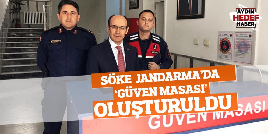 Söke Jandarma'da 'Güven Masası' oluşturuldu