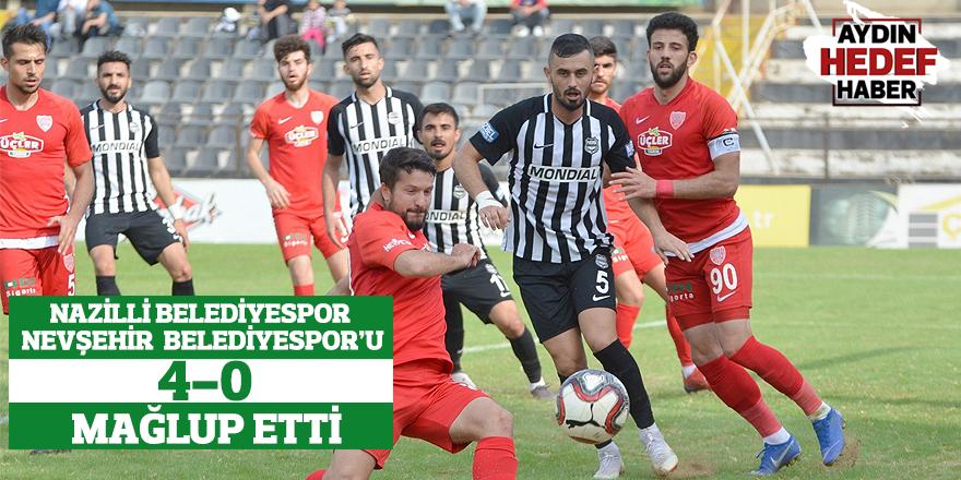 Nazilli Belediyespor: 4 Nevşehir Belediyespor: 0
