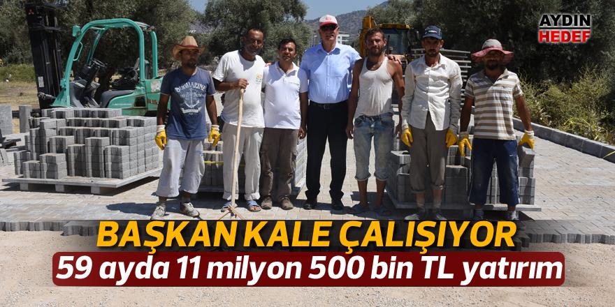 59 ayda 11 milyon 500 bin TL yatırım