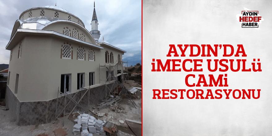 İmece usulü cami restorasyonu