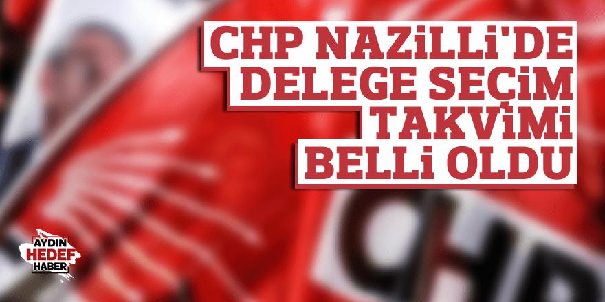 CHP Nazilli'de Delege Seçim Takvimi Belli Oldu
