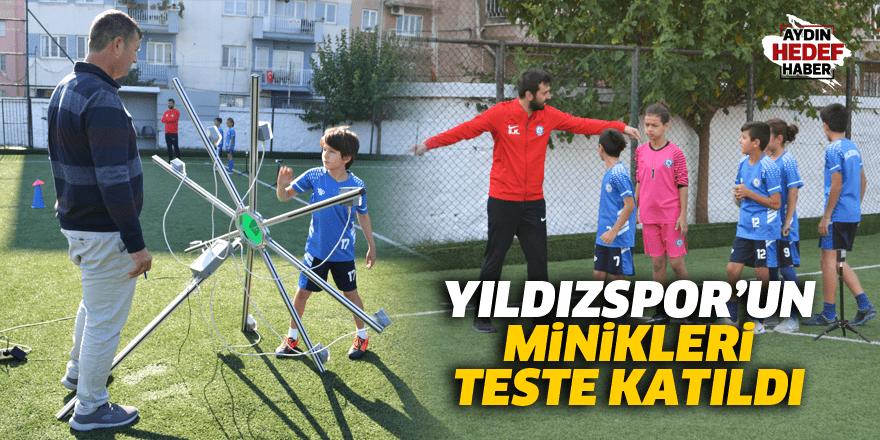 Yıldızspor'un minikleri teste katıldı