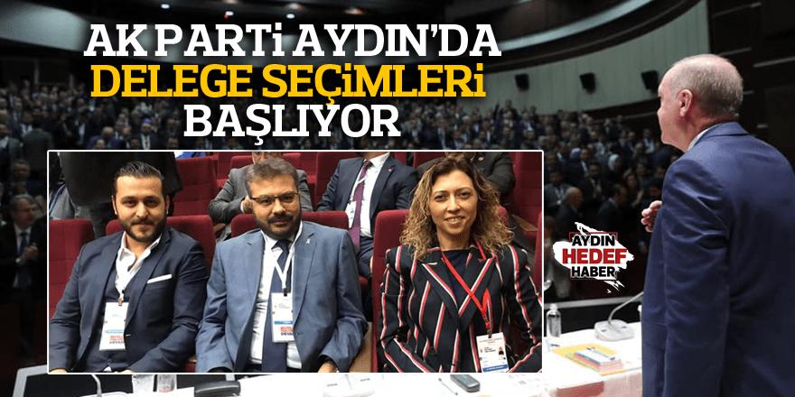 AK Parti Aydın'da delege seçimleri başlıyor