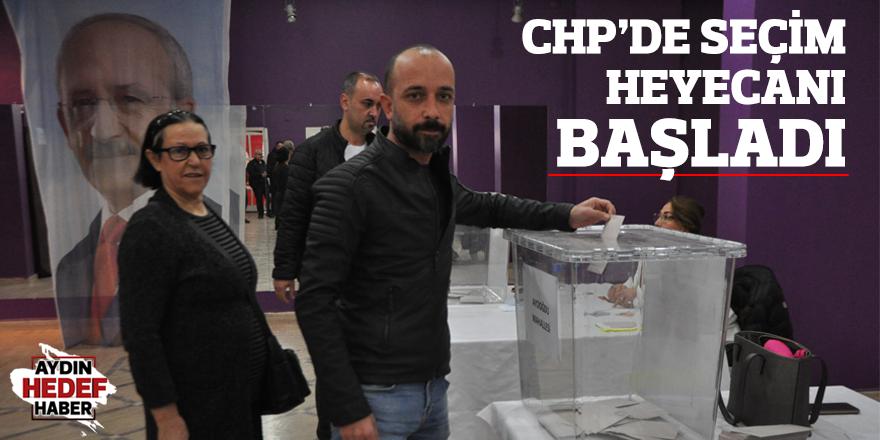 CHP'de seçim heyecanı başladı