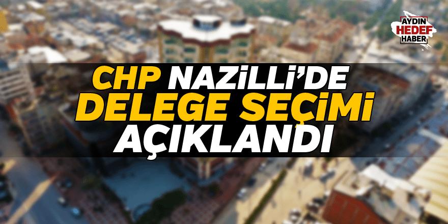 Nazilli'de delege seçimleri açıklandı