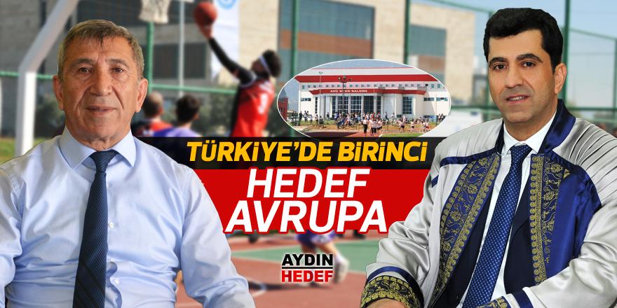 Türkiye'de birinci, Avrupa hedefi