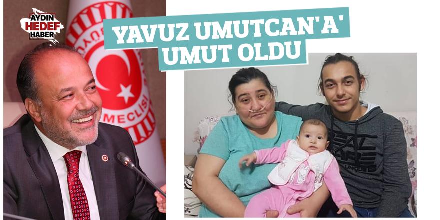 Yavuz 'Umutcan'a umut oldu