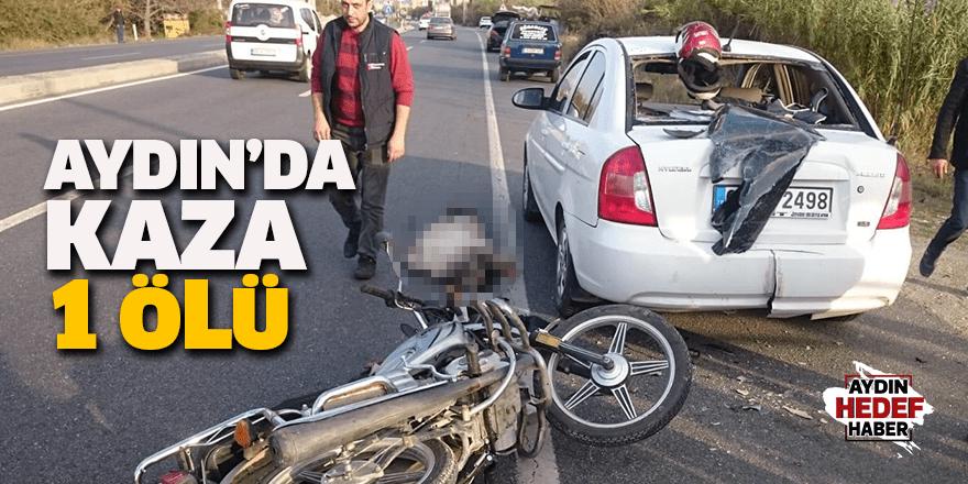 Aydın'da motosiklet kazası: 1 ölü