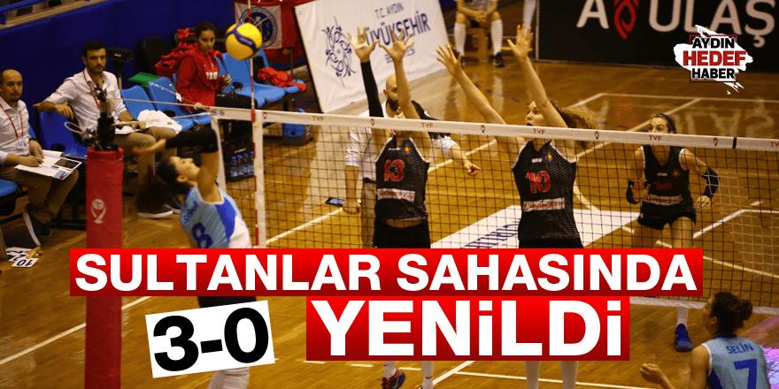 Sultanlar sahasında 3-0 yenildi