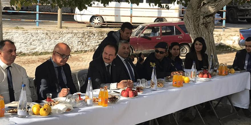 Yenipazar protokolü Paşaköy'ü dinledi
