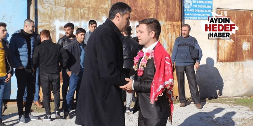 Karpuzlu'daki gençler dualarla askere uğurlandı