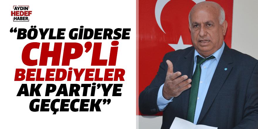 Köroğlu, CHP'li Belediye Başkanlarını topa tuttu