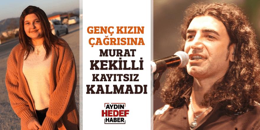 Genç kızın çağrısına Murat Kekilli kayıtsız kalmadı