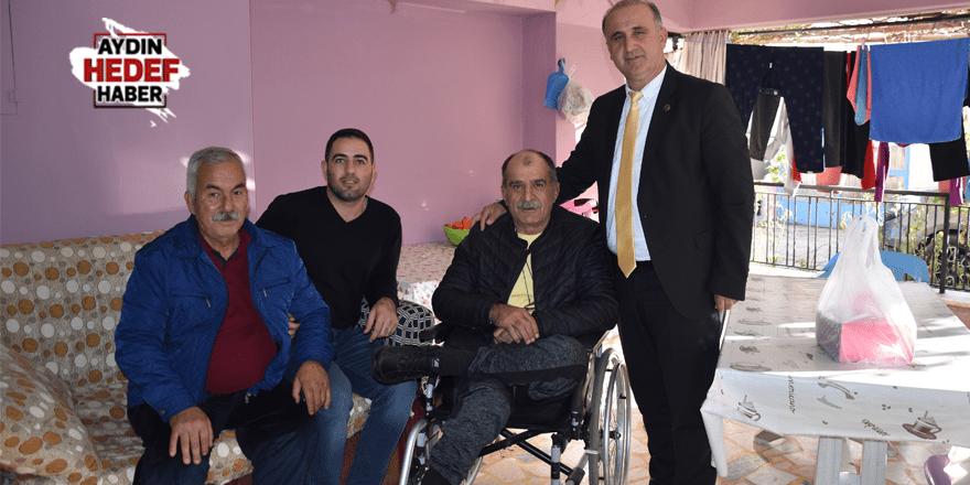 Başkan Kaya'dan engelli vatandaşa doğum günü sürprizi