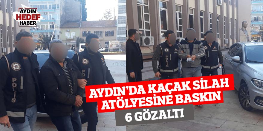 Aydın'da Kaçak Silah Atölyesine Baskın: 6 Gözaltı
