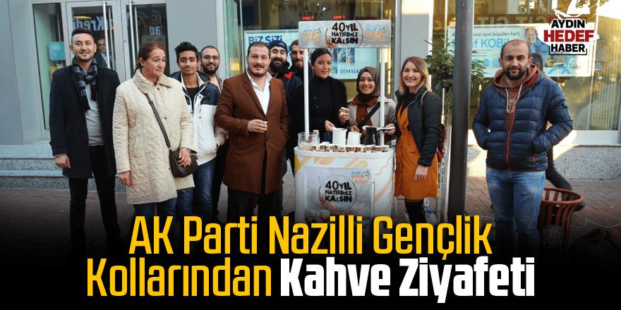 AK Parti Nazilli Gençlik Kollarından Kahve Ziyafeti