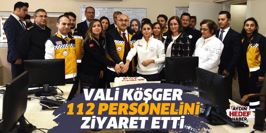 112 personeline ziyaret