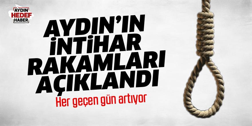 Aydın'da 73 intihar!