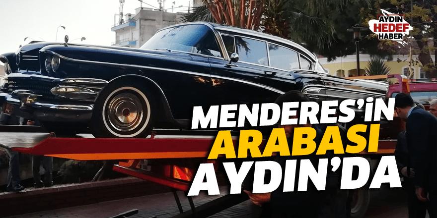 Menderes'in  Arabası  Aydın'da