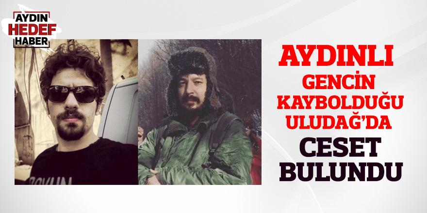 Aydınlı gencin kaybolduğu Uludağ'da ceset bulundu
