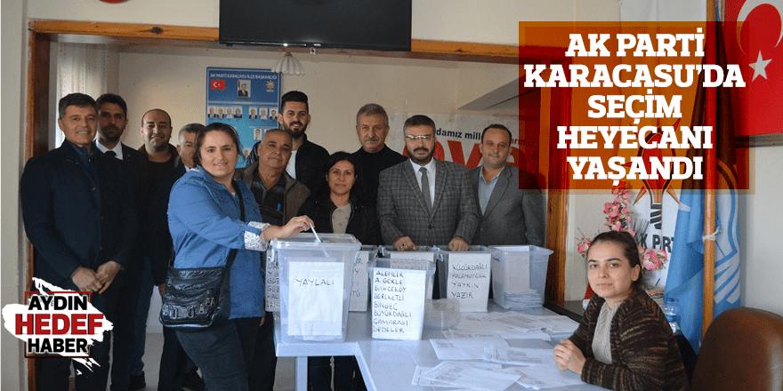 AK Parti Karacasu'da seçim heyecanı
