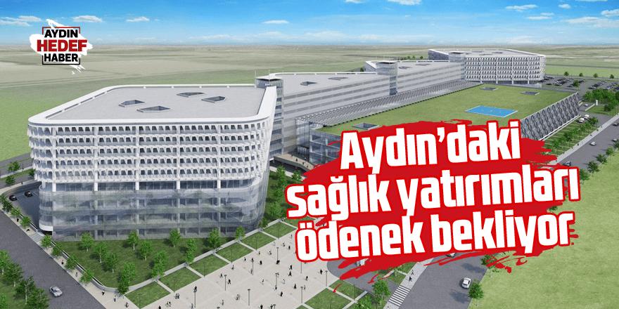 Aydın'daki sağlık yatırımları ödenek bekliyor