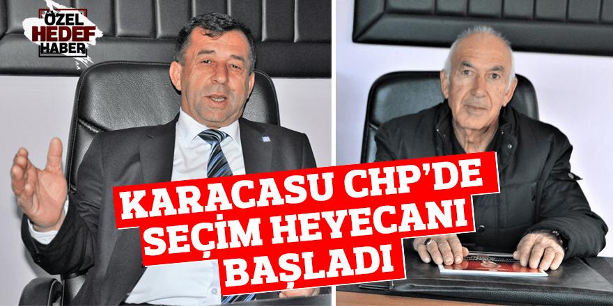 Karacasu CHP'de seçim heyecanı!
