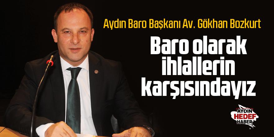 """Bozkurt: """"Baro olarak ihlallerin karşısındayız"""""""
