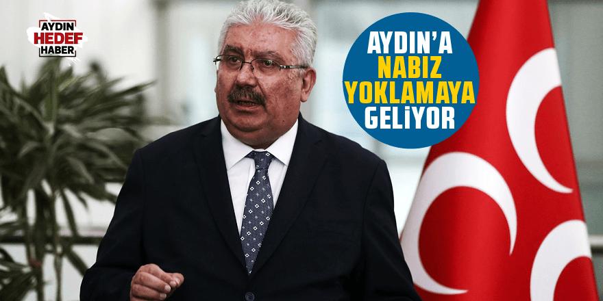 Semih Yalçın Aydın'da partinin nabzını tutacak