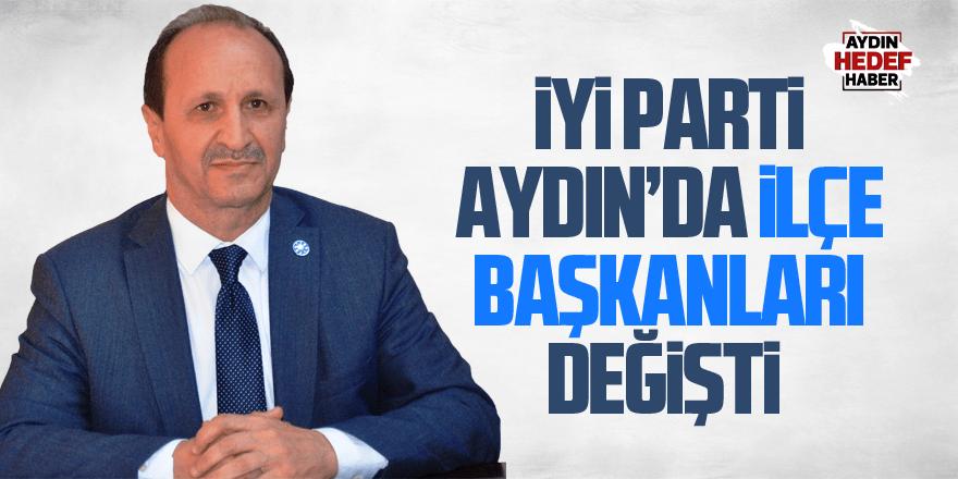 İYİ Parti Aydın'da 3 ilçe başkanı değişti