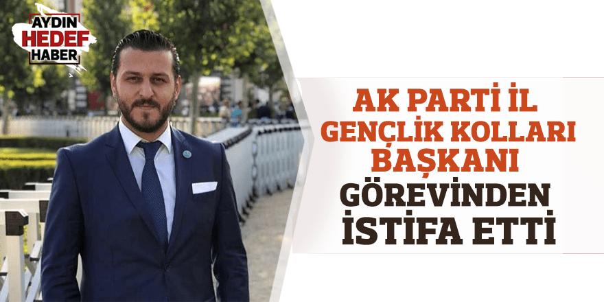 AK Parti İl Gençlik Kolları Başkanı Aykut istifa etti