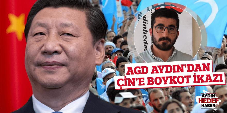 AGD Aydın'dan Çin'e boykot ikazı