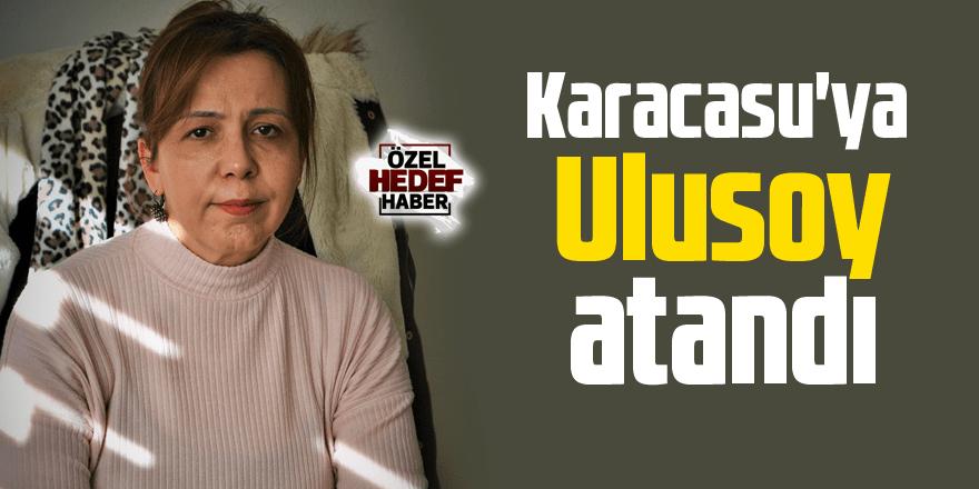 Karacasu'ya atanan yeni Noter Ulusoy görevine başladı