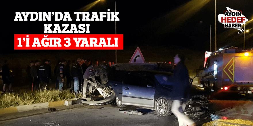 Aydın'da trafik kazası: 3 yaralı