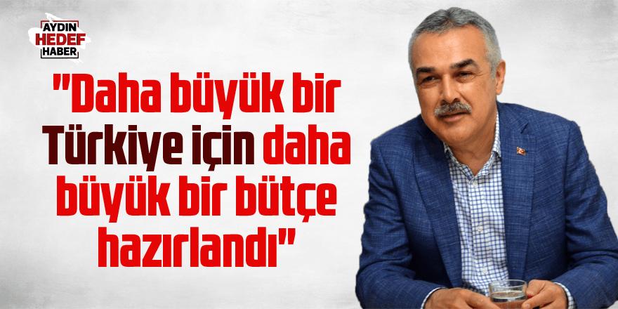Mustafa Savaş 'Bütçe Görüşmeleri'ni değerlendirdi