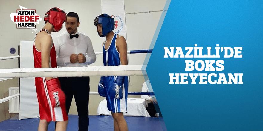 Nazilli'de boks heyecanı